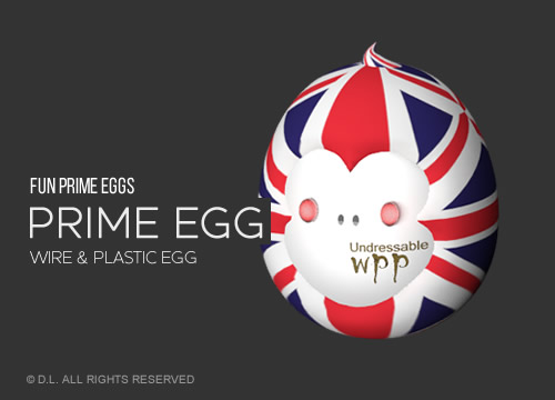 Prime Egg - Wire & Plastic Product Egg
